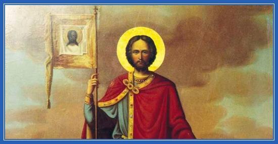Благоверный князь Александр Невский, икона