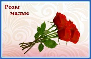 Розы малые