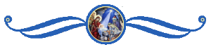 Рождество Христово, синий фон 2