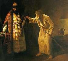 Блаженный Николай и Грозный царь