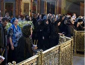 Сретенский монастырь - Великопостное Богослужение