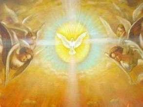 Дух Святой в виде Голубя