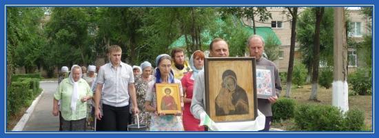 Владимирская икона Божией Матери, Крестный ход