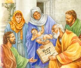 Захария пишет имя Иоанна на дощечке