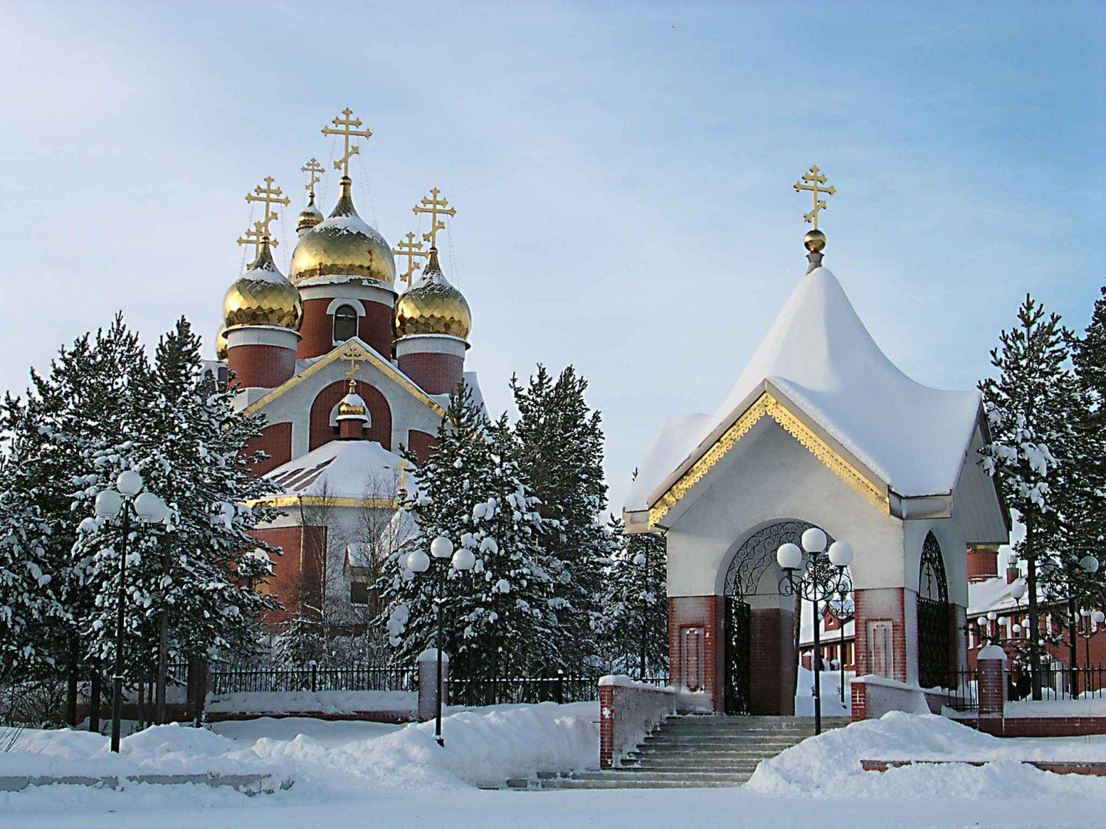 Православные храмы Владивостока православные обои для