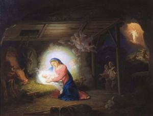 Маленький Христос, Рождество Христово