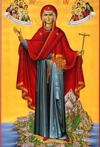 Пресвятая Владычица Богородица и Приснодева Мария