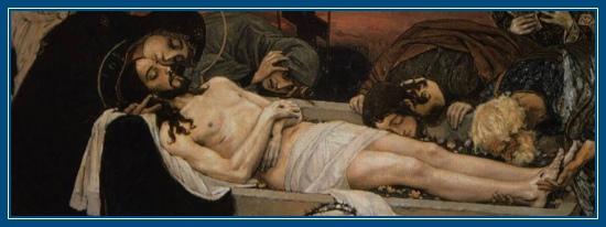 Святая Плащаница, погребение