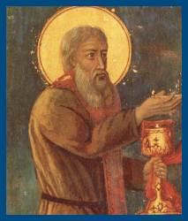 Преподобный Зосима с Чашей