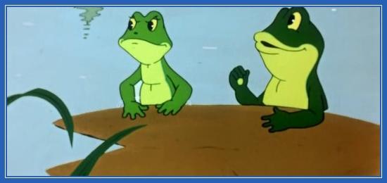 Две лягушки