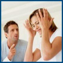 Муж и жена - ссора