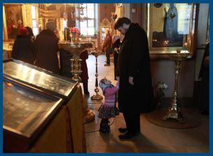 Ребенок в храме