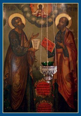 Святии апостолы Петр и Павел