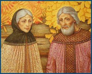 Святые благоверные Петр и Феврония