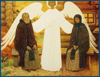 Святые иноки Петр и Феврония