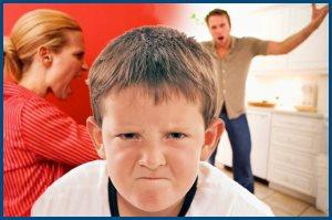 Родители ругаются, дети