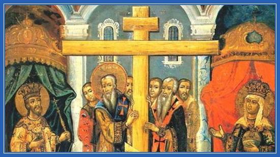 молитва с православным крестом знаком