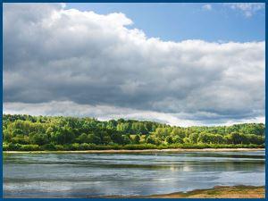 река, картина