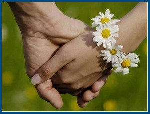 Любовь, за руки