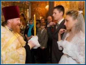 Венчание - свечи