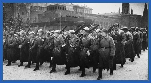 Марш, 1941, война