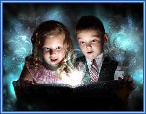 Волшебство, дети, магия
