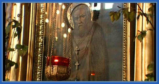 Преподобный Серафим Саровский икона