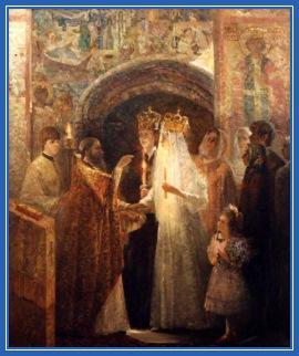 Свадьба, венчание, на Руси