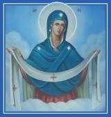 Покров Богородицы - икона