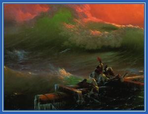 Крушение, море