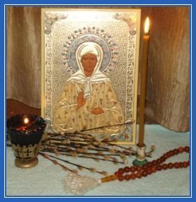 Святая Матрона, икона, чудеса