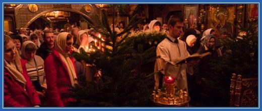 Рождественская ночная служба