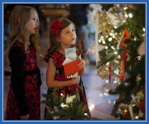 Рождественские загадки, елка, дети