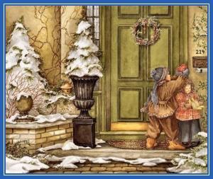 Рождество, дети