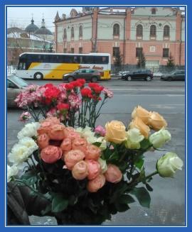 Букет цветов святой Матроне