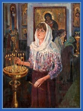 Свеча в храме, поставить свечу