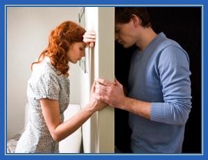 Кризис, муж и жена