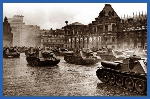 Парад Победы, танки
