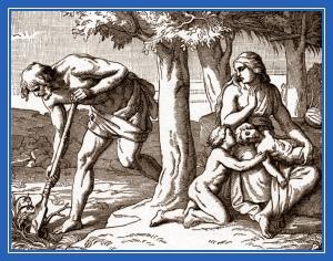Адам и Ева, дети