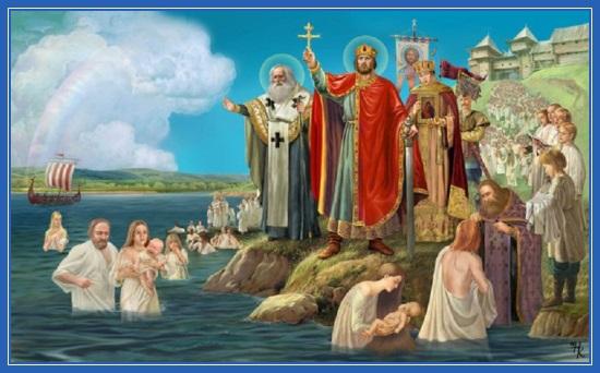 Крещение Руси, равноапостольный князь Владимир