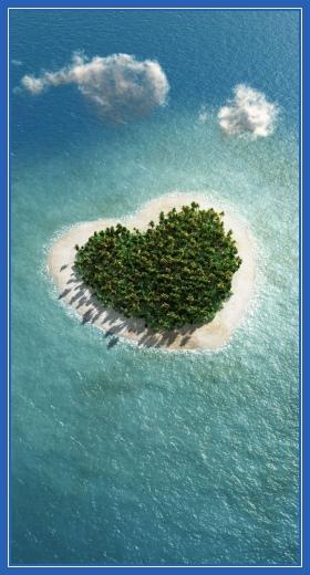 Остров, сердце, Любовь