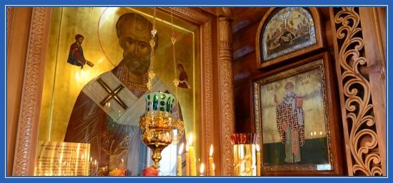 Молебен святителю Николаю, чтение Акафиста, храм