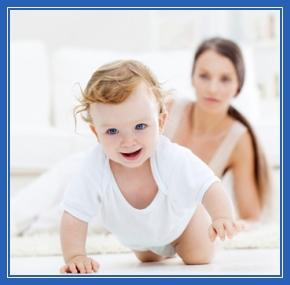 Младенец, Мама