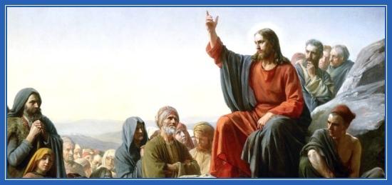 Нагорная проповедь, Иисус Христос