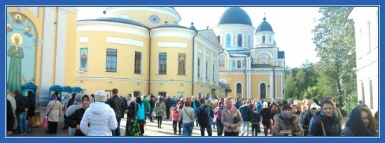 Паломники, поездка в Покровский монастырь