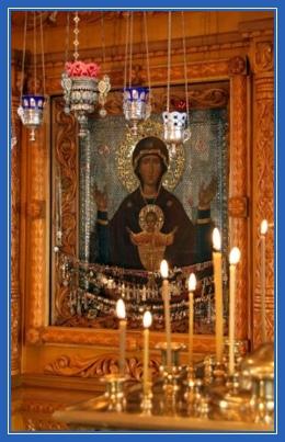 Икона Неупиваемая Чаша Божией Матери