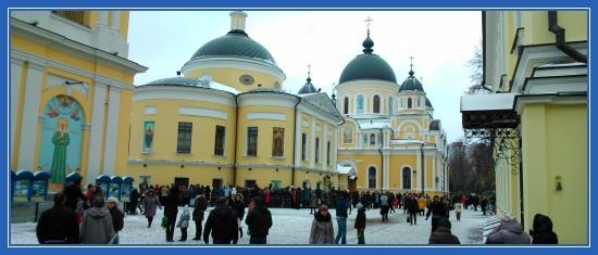 Покровский монстырь, святая Матрона