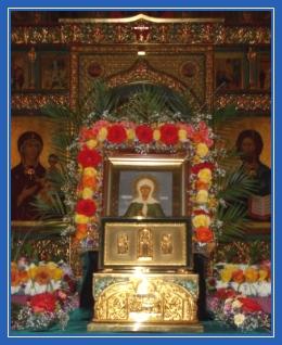 Святая Матрона Московская, храм, икона, мощи