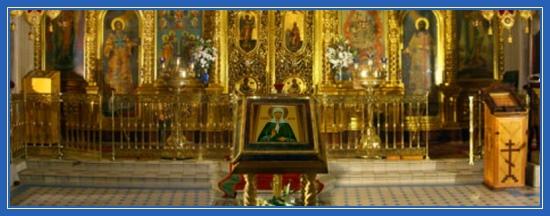 Святая Матрона, храм