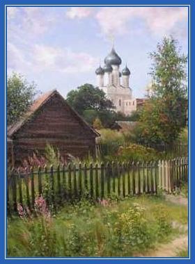 Храм, Церковь, дом, изба